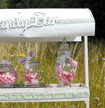 Bonbonnières bar à bonbons