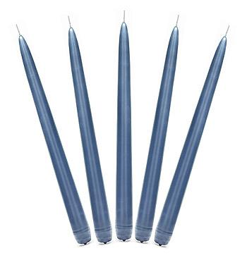 Bougies Flambeaux Bleu Marine