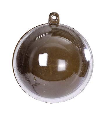 Boule Transparente 5 cm Chocolat Contenant Dragées