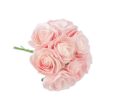 8 Roses Rose Artificielles