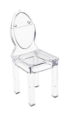 Marque Place Chaise Pvc Transparent Discount