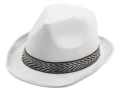 Chapeau Borsalino Cadeau Invité Blanc