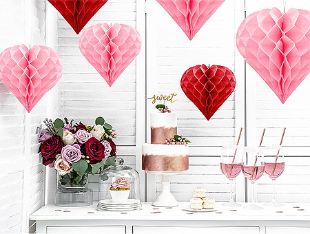 Coeur Papier Décoration Candy Bar
