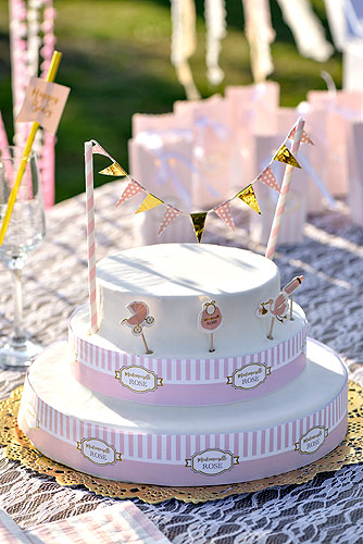 Cake topper Gateau Baby Shower