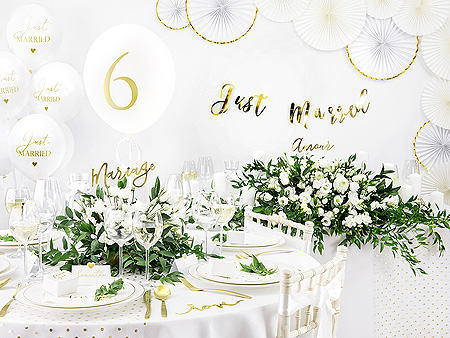 Nappe ronde blanche polyester luxe 3m