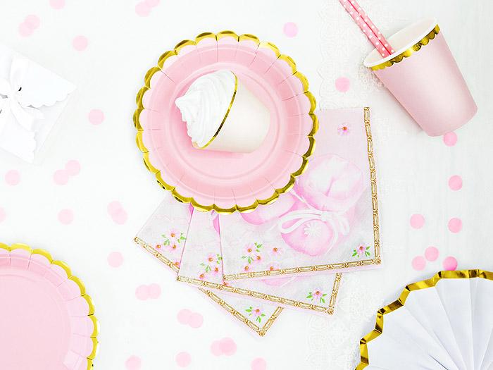 Décoration Table Bapteme Blanc Rose Fille