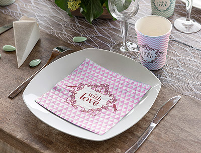 Déco de table With Love
