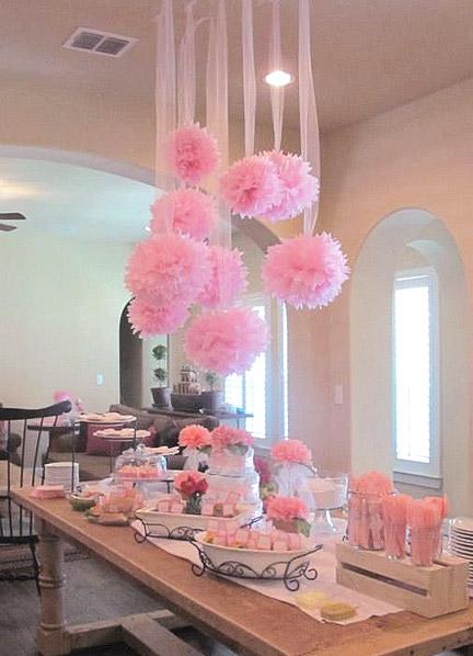 Décoration mariage suspendue plafond