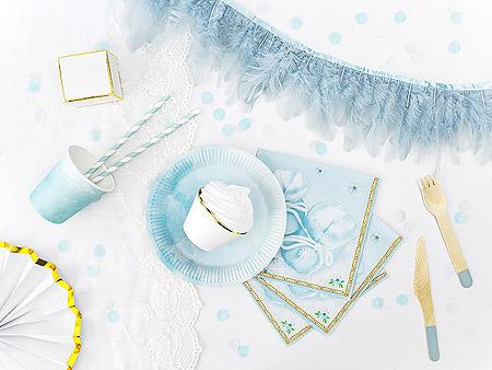 Décoration Table Bapteme Bleu Ciel Garçon