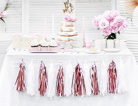 Decoration Table Candy bar Tassel