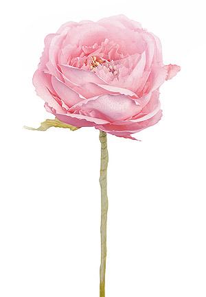 Fleur Camélia Artificielle Rosee