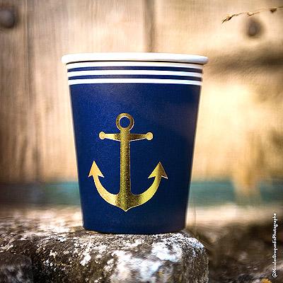 Gobelet carton marin petit matelot