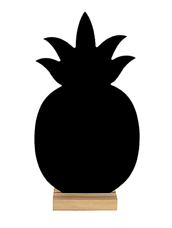 Marque Table Ardoise Ananas Support Bois