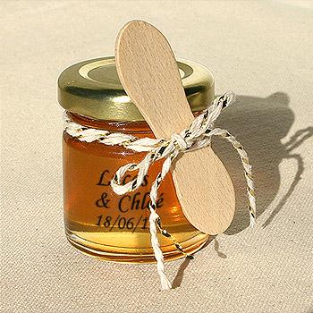 Mini Cuillère en Bois pour Miel