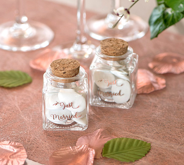 Pot Carré Just Married Rose Gold