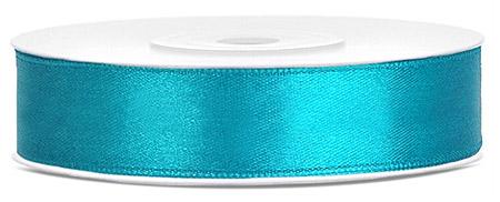 Ruban Satin 12mm turquoise