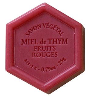 Savon Miel Fruits Rouges cadeau Invité