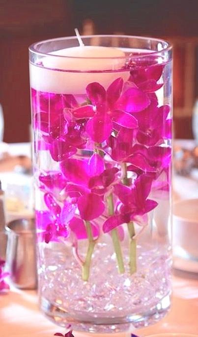 Vase En Verre Geant Deco Droit Biseaux Luxe 30 Cm