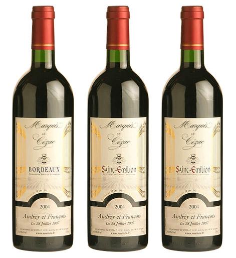 Quantite bouteille de vin mariage - Quantite de vin par personne ...
